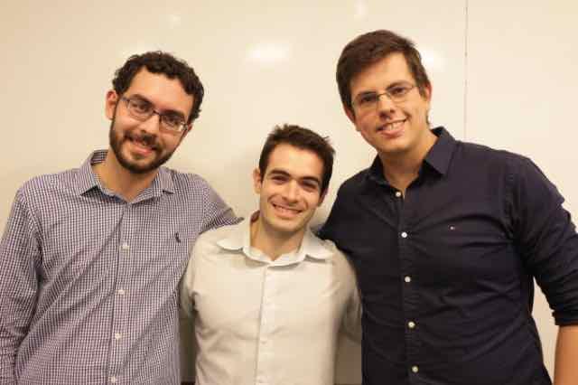 Eduardo, Pedro e Bruno