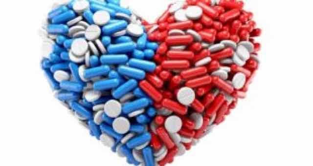 coracao feito de pilulas
