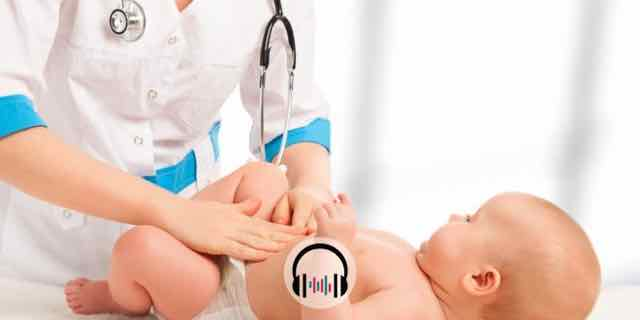 medica aliviando colicas do bebe