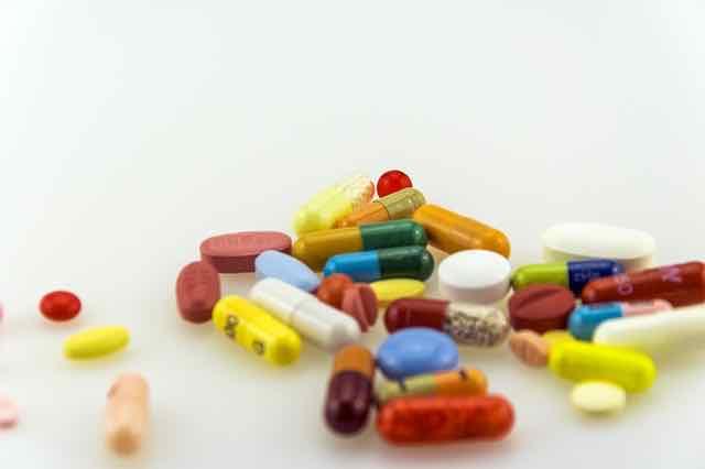 pilulas de diversos medicamentos