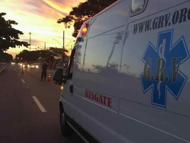 ambulancia do GRV