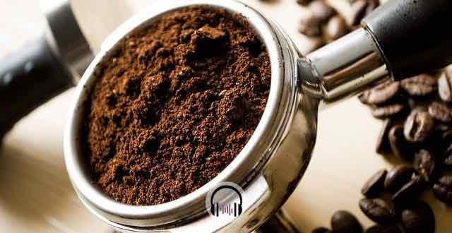 borra de café preto