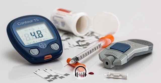 objetos relacionados com diabetes