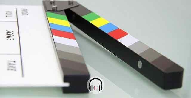 claquete de filme