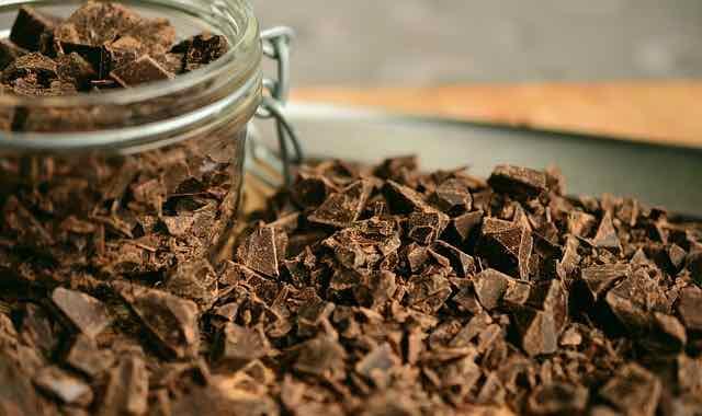 pote de chocolate