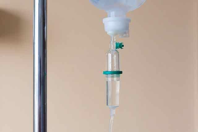 medicação intravenosa