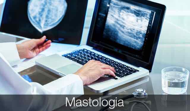médico examinando os resultados da mamografia