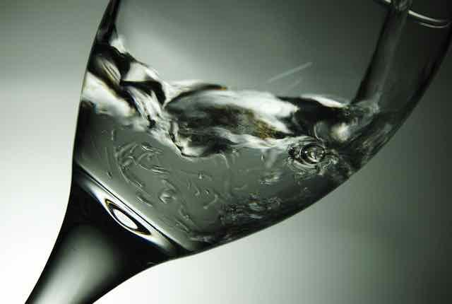taça de bebida