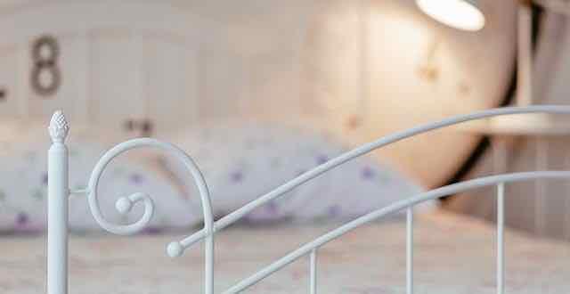 imagem de uma cama
