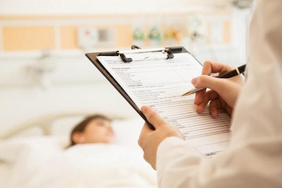 paciente pós cirurgia