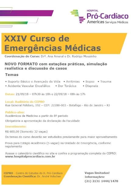 Curso de Emergências Médicas