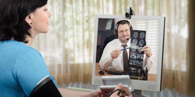 telemedicina e consultas online
