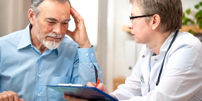 paciente sendo orientado pelo médico