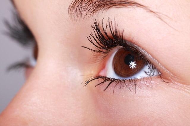 olhos de uma pessoa com glaucoma