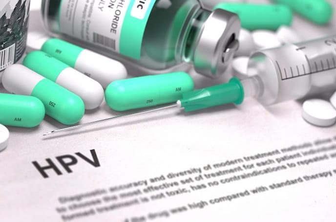 ilustração de HPV