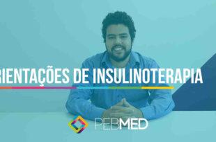 médico dando orientações sobre insulinoterapia