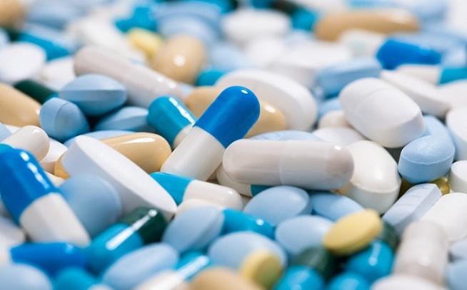 medicamentos variados junto de betabloqueadores