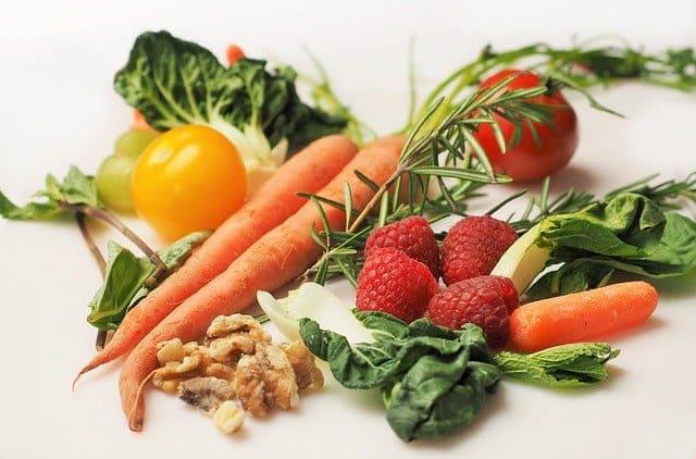 legumes, frutas e outras hortaliças importantes para dieta de paciente com câncer de mama