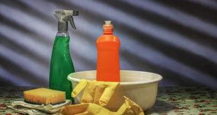 produtos de limpeza que podem estar relacionados à asma