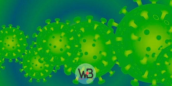 imagem digital de coronavírus