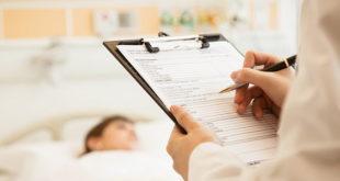Paciente com coronavírus sob cuidados paliativos