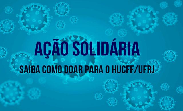 ação solidária para leitos da UFRJ durante coronavírus