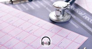 eletrocardiograma de paciente apresentado no congresso da ACC 2020