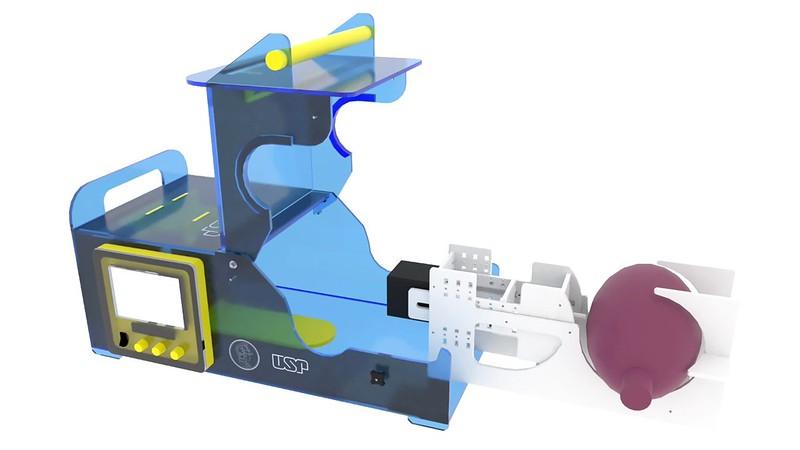Ventilador pulmonar mais barato projetado por engenheiros da escola politécnica da USP