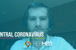 central coronavírus em vídeo