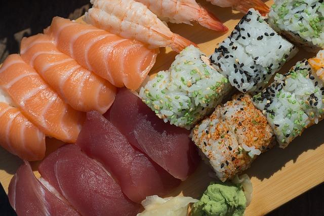 sashimi contaminado com Pseudoterranova azarasi