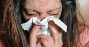 Paciente sob tratamento de antibioticoterapia para influenza
