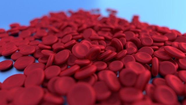 Representação gráfica de hemácias em corpo acometido por anemia ferropriva