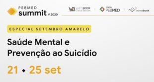 Conteúdos de Psiquiatria do Whitebook no PEBMED Summit