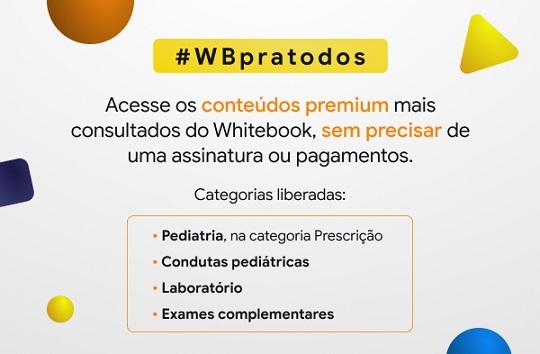 Conteúdos premium do Whitebook liberados