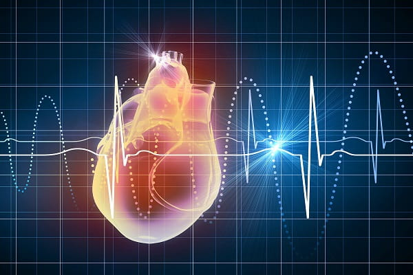 imagem de coração de paciente com insuficiência cardíaca
