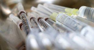 seringas para aplicação de vacina da Pfizer