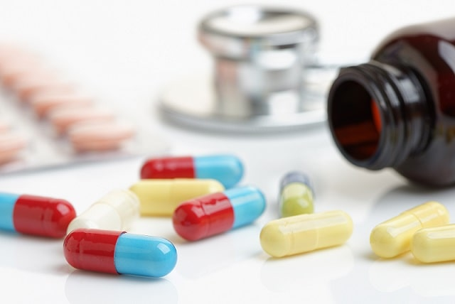 cápsulas de medicamentos de vitamina D