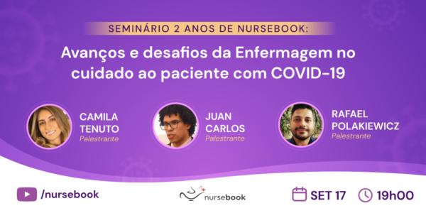 Blog do Nurse: Seminário de aniversário de 2 anos Nursebook!
